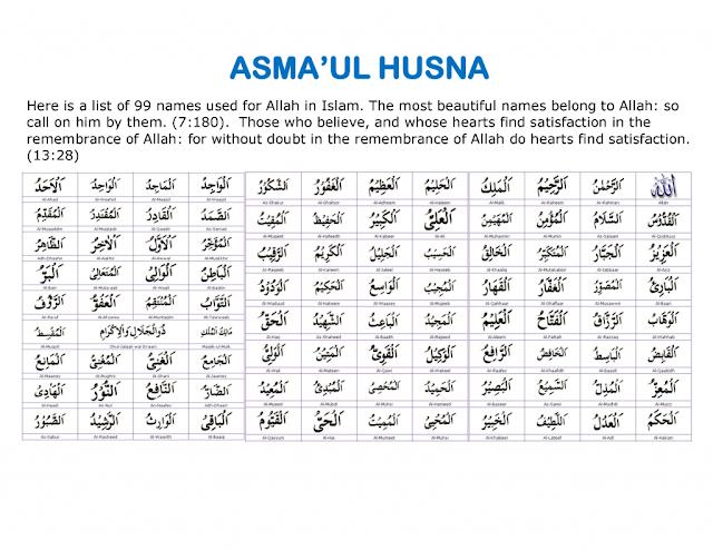 Berdoa Dengan Asmaul Husna al Mumit