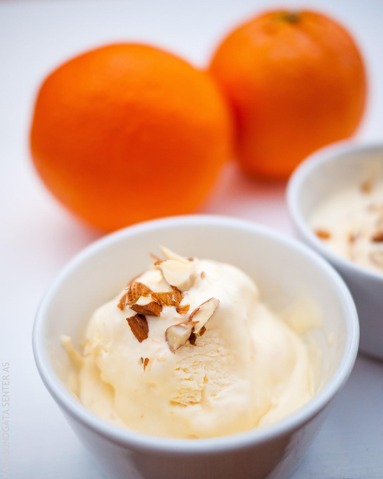 Appelsiniskrem oppskrift