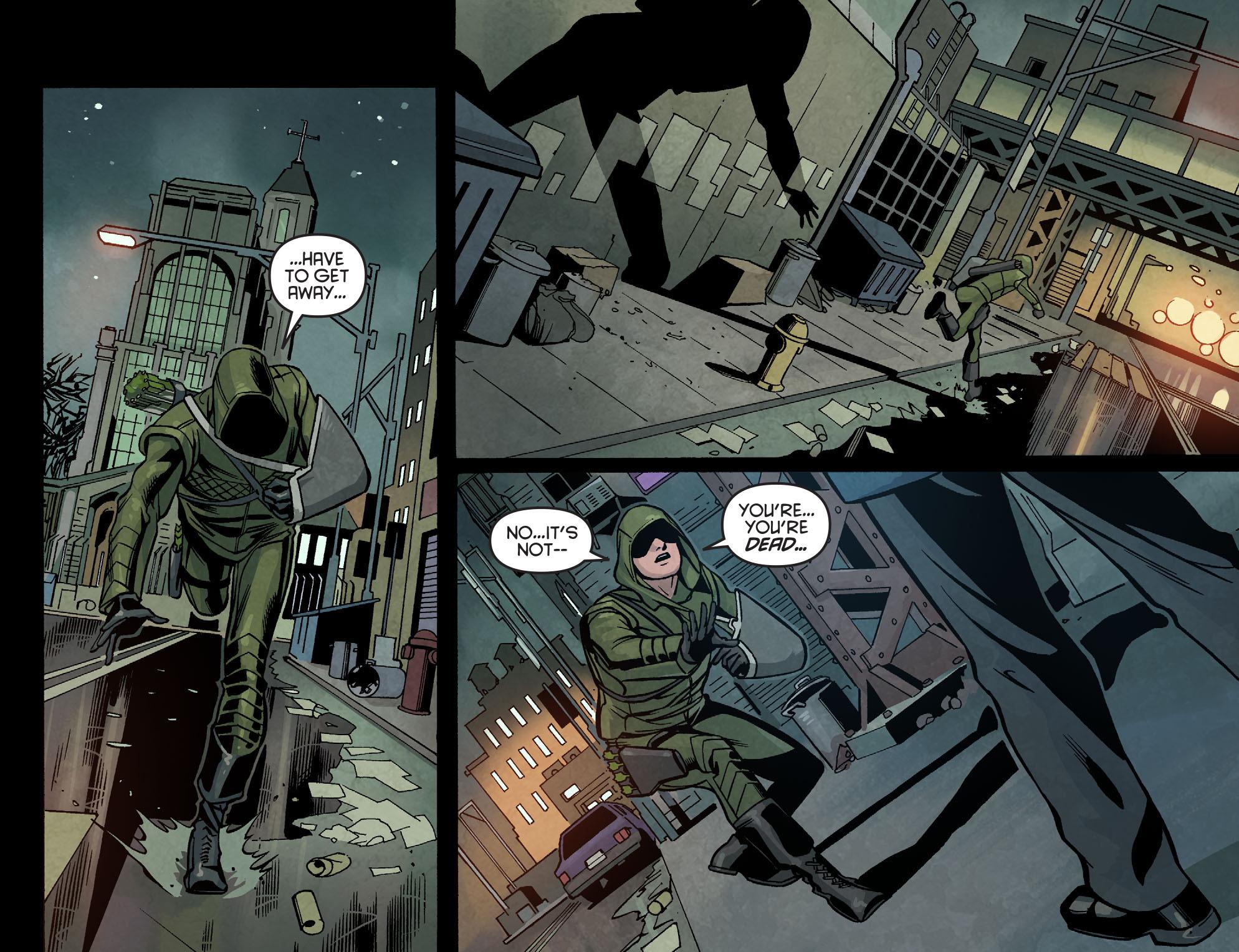 Read online Arrow: Season 2.5 [I] comic -  Issue #7 - 8