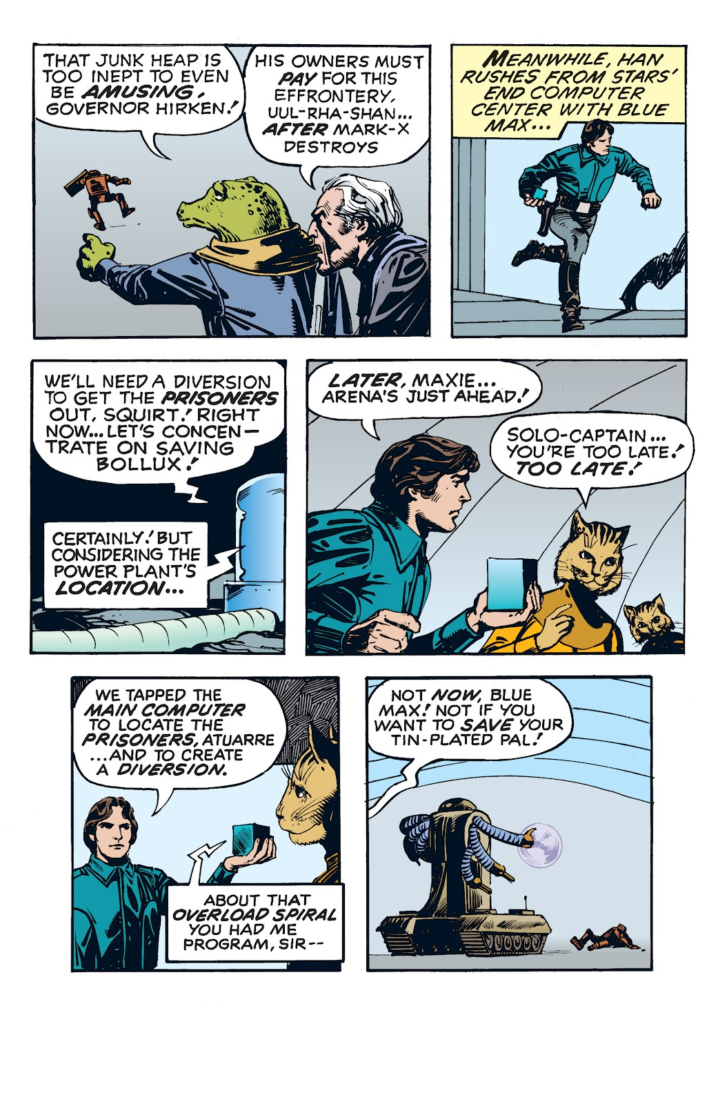 Read online Star Wars Legends: The Newspaper Strips - Epic Collection comic -  Issue # TPB (Part 4) - 61