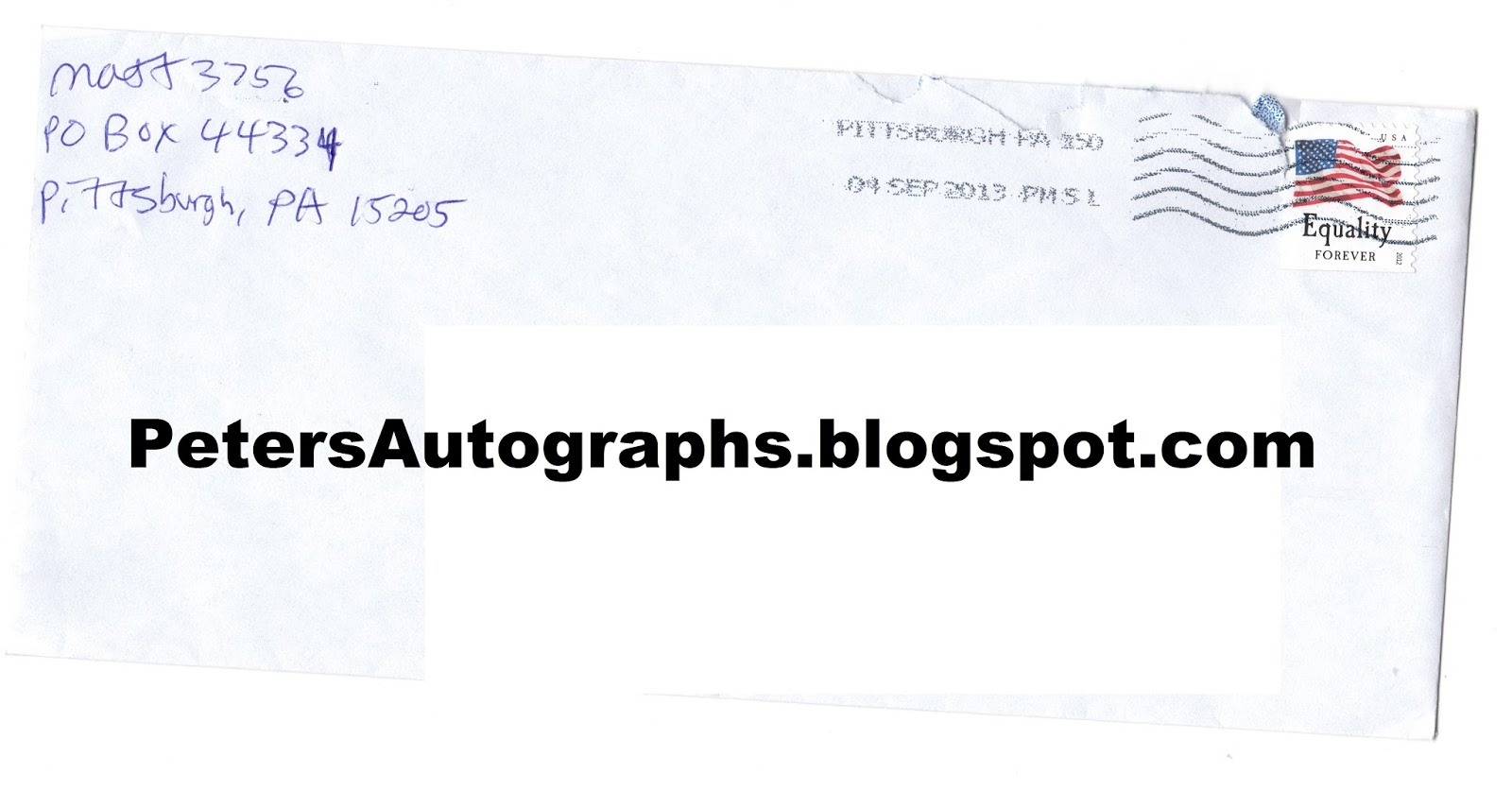 Peter's Autographs: Matt Magnone Success!