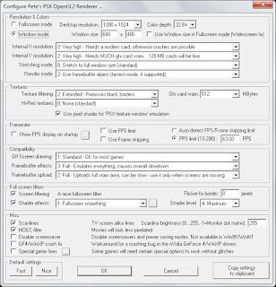 Konfigurasi HD Game PSX Pada Emulator ePSXe 1.9.25