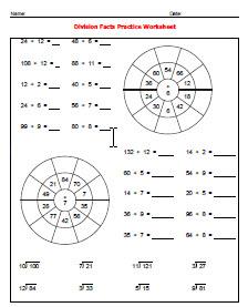 gedmath: Division Skills (Basic and Long Division ...