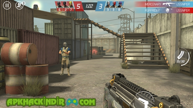 MaskGun Multiplayer FPS Hile