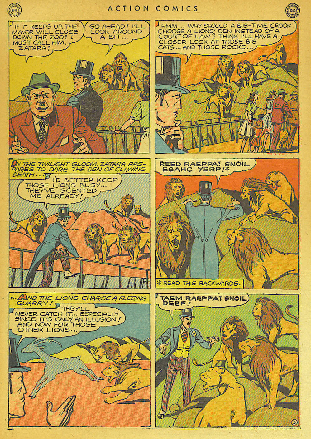 Read online Action Comics (1938) comic -  Issue #74 - 53