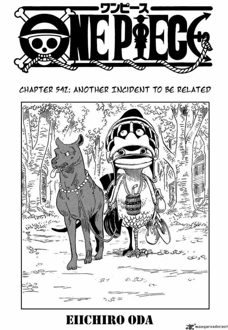 One Piece 542