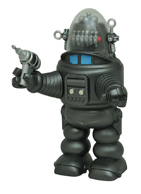 San Diego Comic-Con 2017 Exclusive Forbidden Planet Robby the Robot with Blaster Vinimate Vinyl Figure by Diamond Select Toys