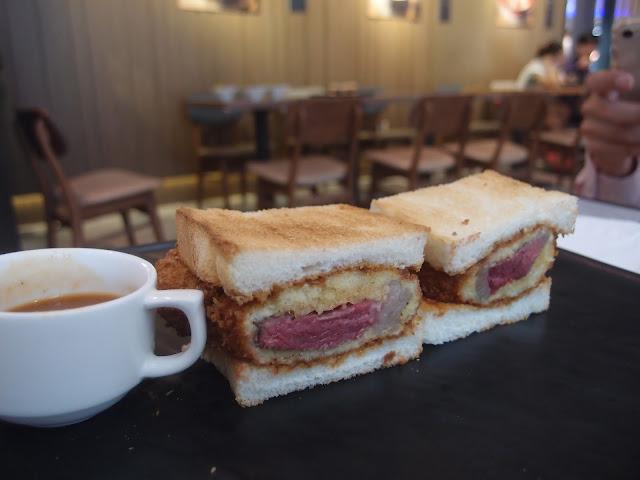 NY Wagyu Steak Sandwich