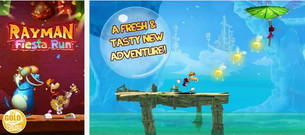 Rayman Fiesta Run v1.2.5 APK+DATA