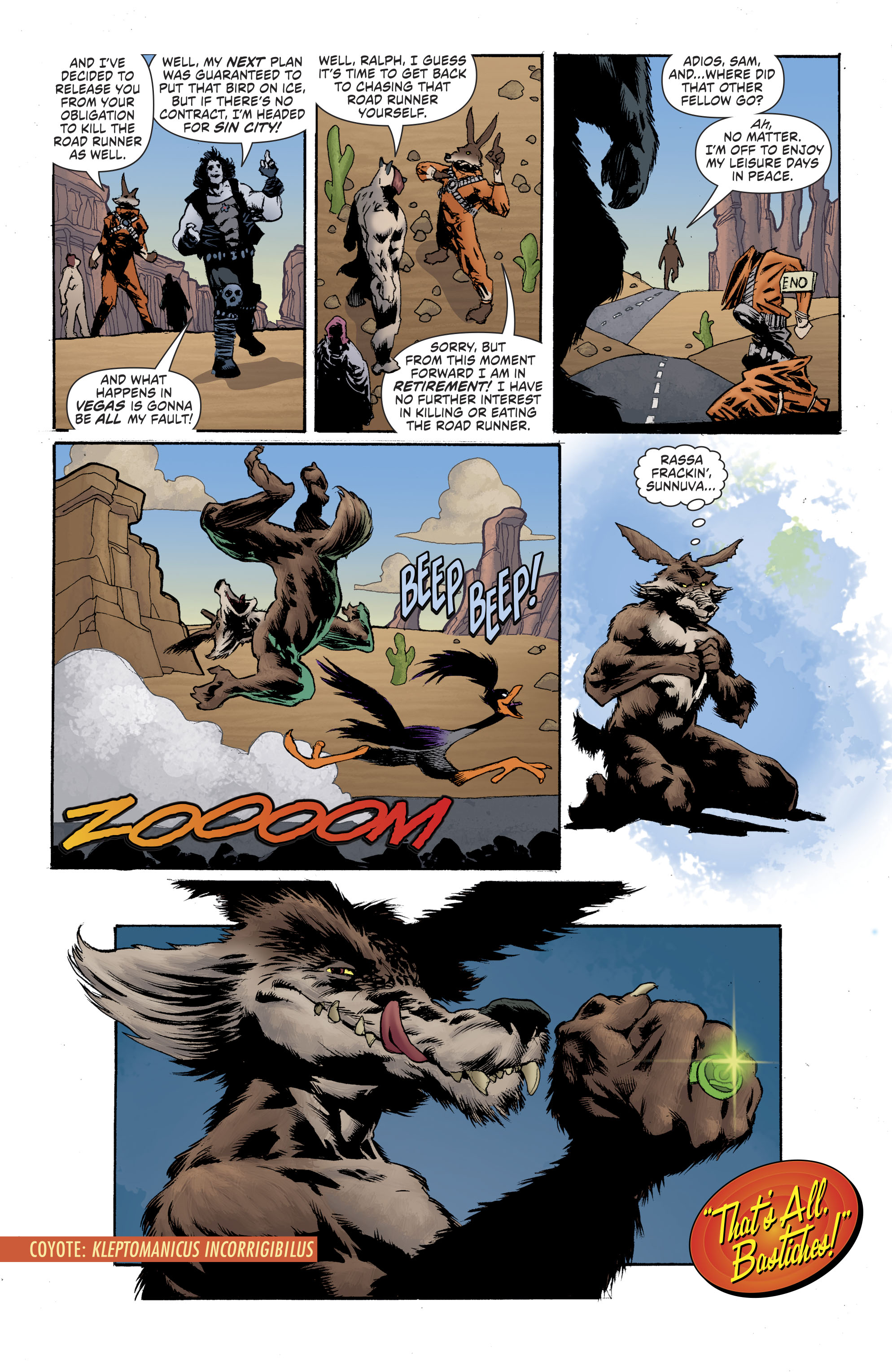 Read online Lobo/Road Runner Special comic -  Issue # Full - 32