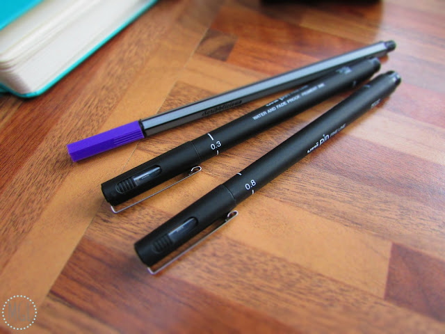 My General Life - Bullet Journal Supplies