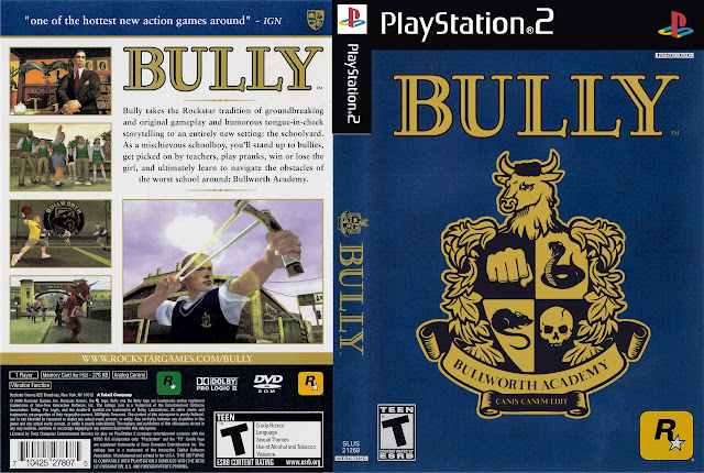 Capa PS2 Bully