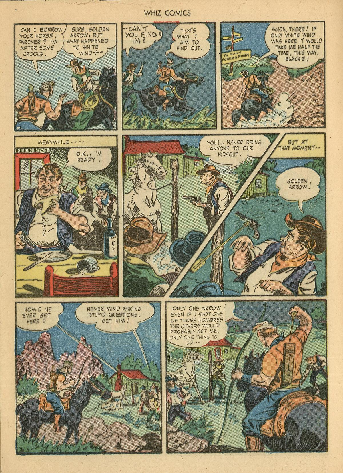 WHIZ Comics issue 67 - Page 16