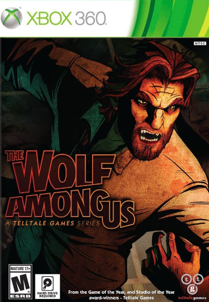 The Wolf Among Us XBOX 360 Cover Caratula