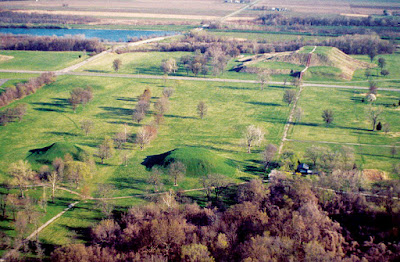 Monks Mound and Ancient Cahokia City