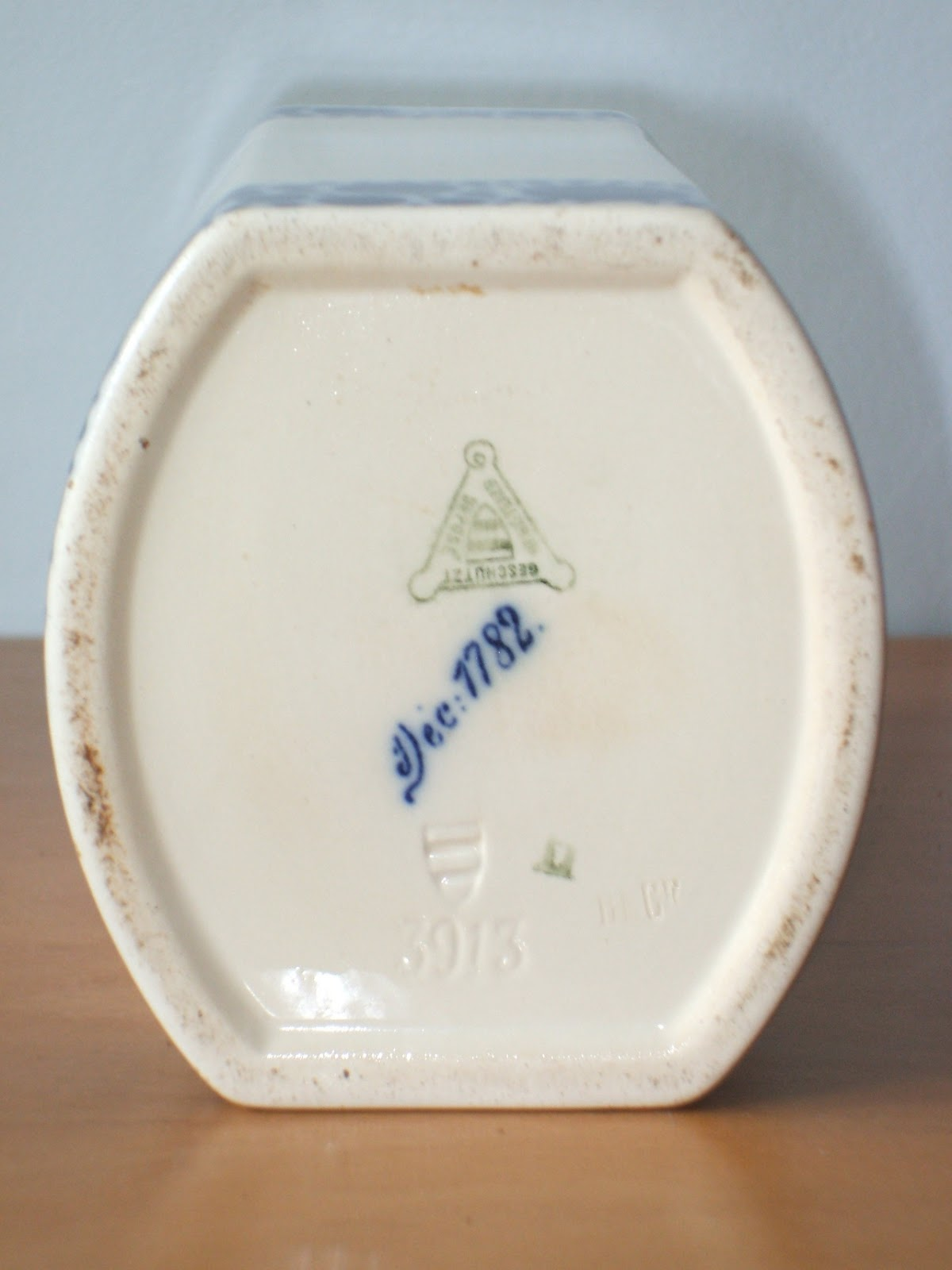 Pottery And Porcelain Marks Waechtersbach Germany Mark
