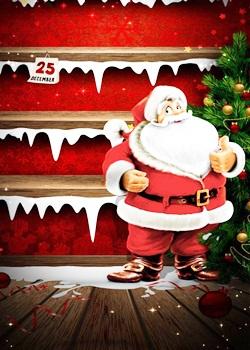 Cute Santa Whatsapp Image