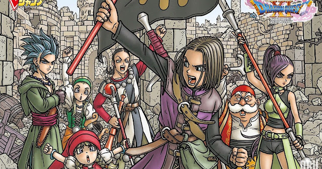 Veja a gameplay do RPG Dragon Quest XI no PlayStation 4