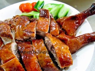daging angsa panggang lezat menggoda selera