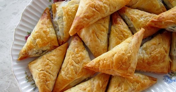 Mission Food Olympic Party 2 Spanakopita
