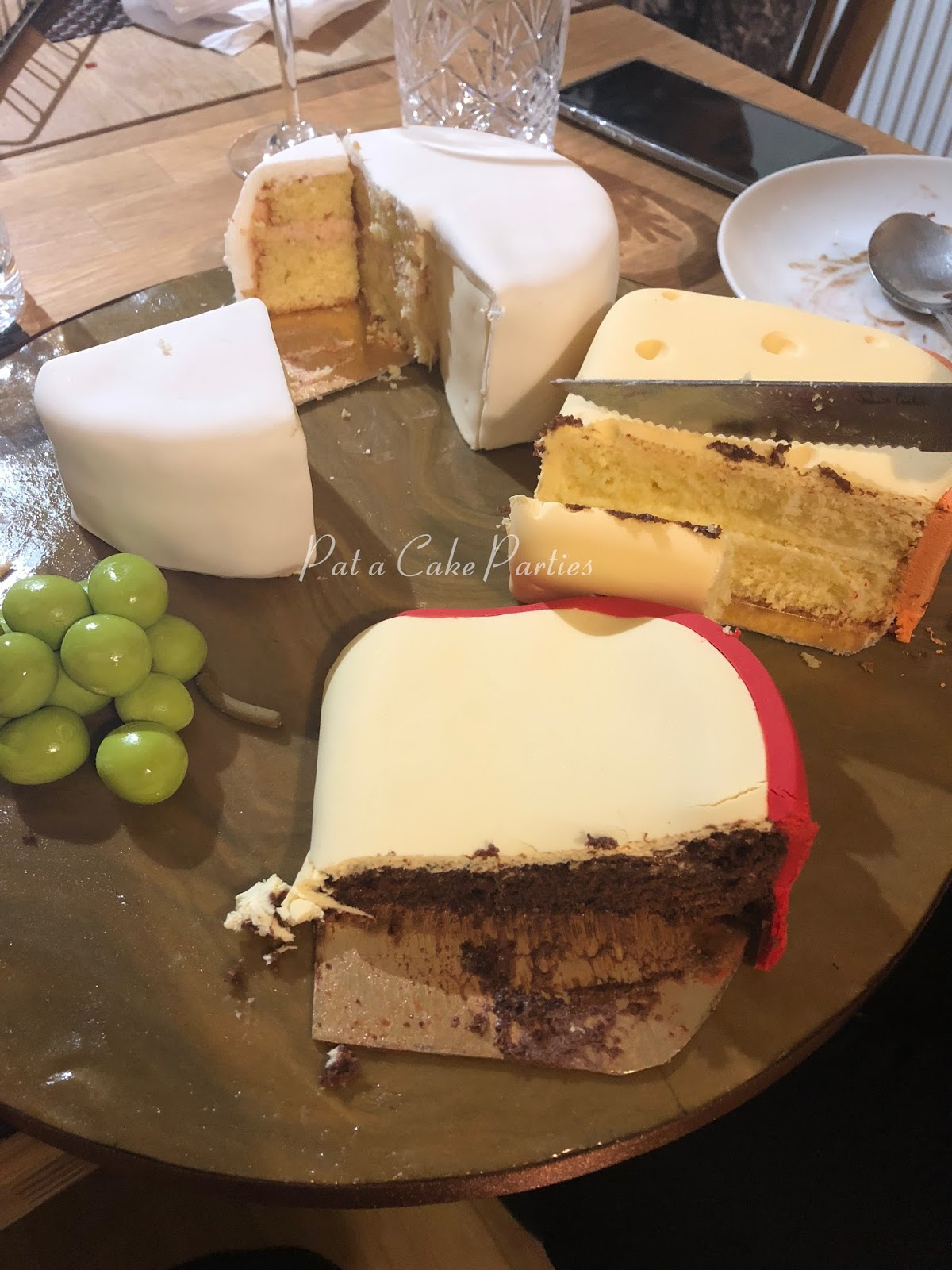 PataCake Parties Cheese Board Cake
