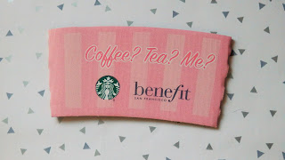 Benefit Cosmetics & Starbucks Freebies