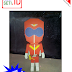 Aka Ranger (Himitsu Sentai GORANGER) PAPERTOYS