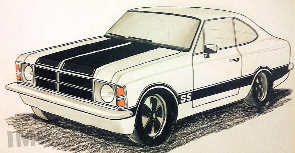 Ismael Desenhos Chevrolet Opala Ss
