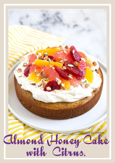 Almond Honey Cake with Citrus Recipe