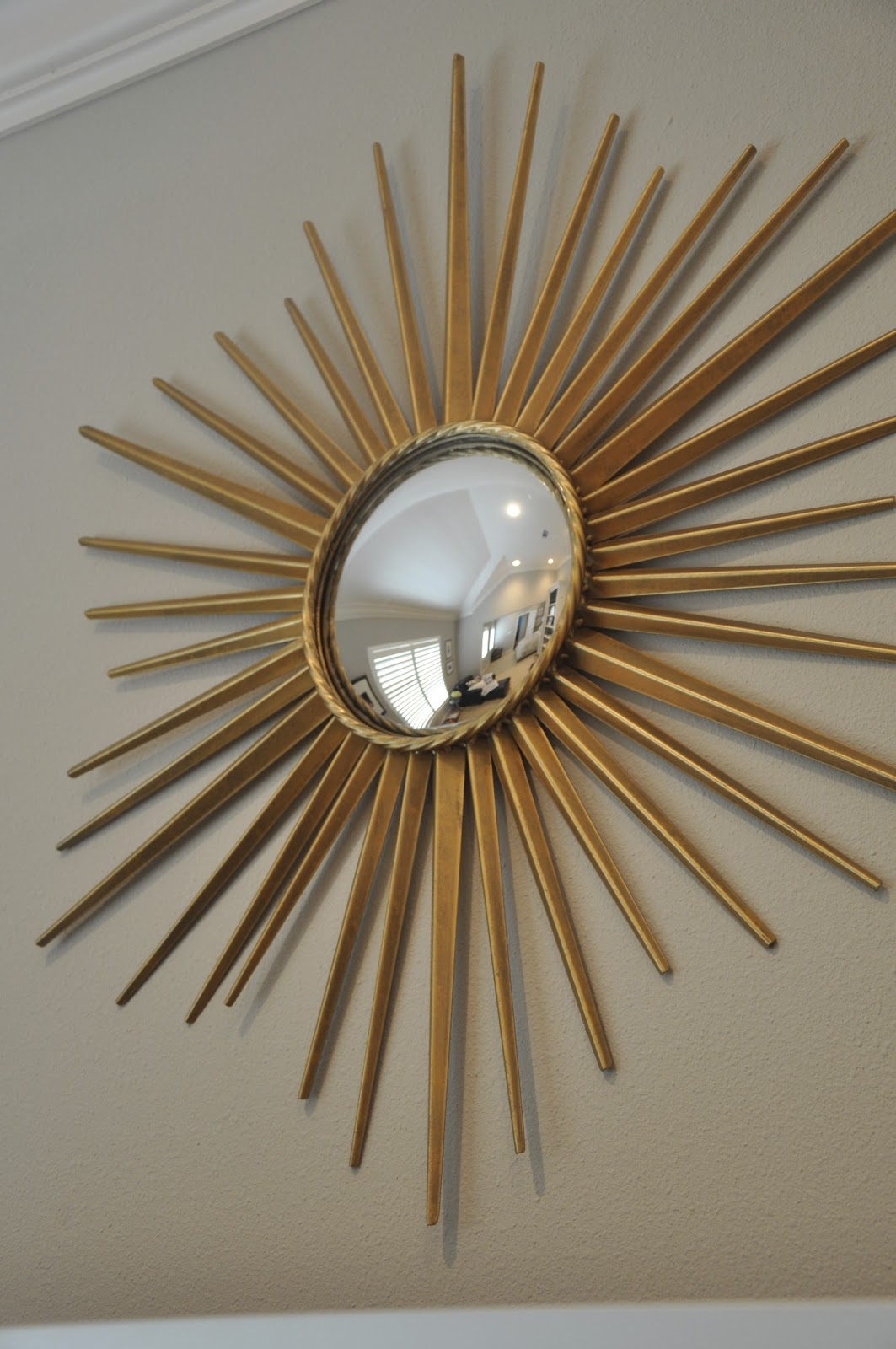 Starburst Mirror Update To Master Bedroom Honey We Re Home