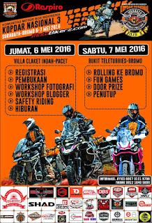 KOPDAR Komunitas Motor Box Indonesia 6-7 Mei 2016 Di Pacet & Bromo Jatim