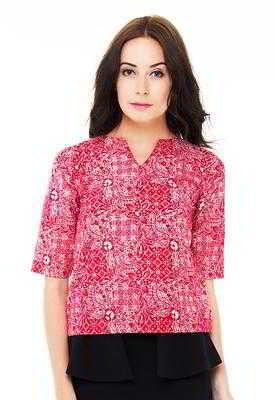 Model Kemeja Batik Wanita Terbaru