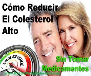 Cómo Reducir Naturalmente El Colesterol Alto