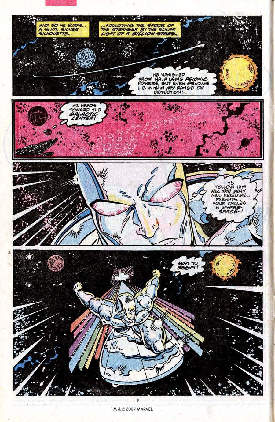 Read online Silver Surfer (1987) comic -  Issue #31 - 10