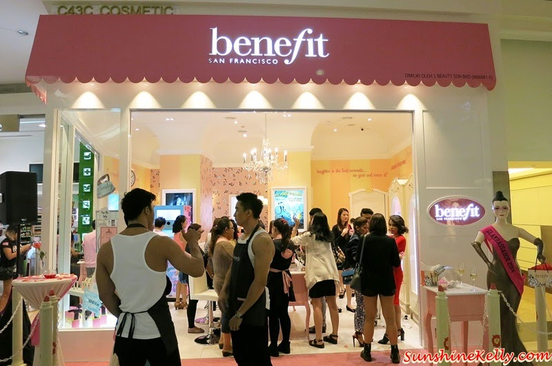 Benefit New Boutique KLCC, Benefit Cosmetics, Suria KLCC, Benefit Cosmetics Malaysia, Bling Brow, Benefit Stay Flawless, Benetint, Bathina, POREfessional, brow bar