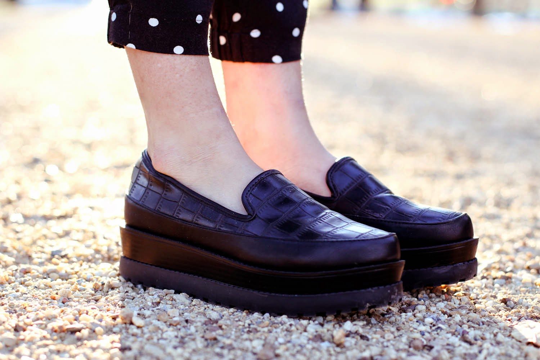 forever21 flatform loafers