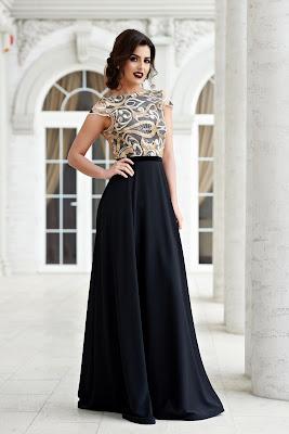 vestidos largos y cortos a la vez