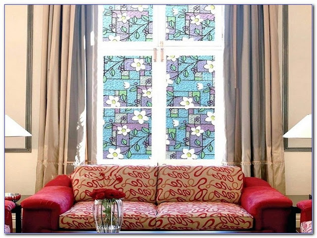 Buy Stained GLASS Vinyl WINDOW Film for sale