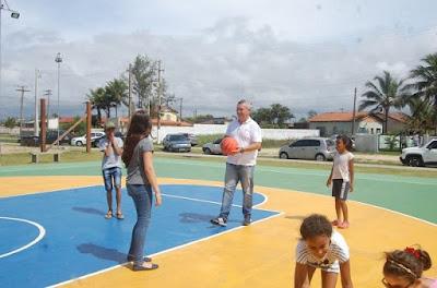 Geraldino Júnior entregou ilha de lazer do City Mar à população e anunciou nova ilha no Viareggio