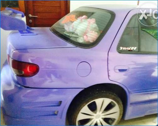 Foto Modifikasi Mobil Timor Ceper Elegan Balap Warna