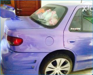 modifikasi mobil timor warna biru