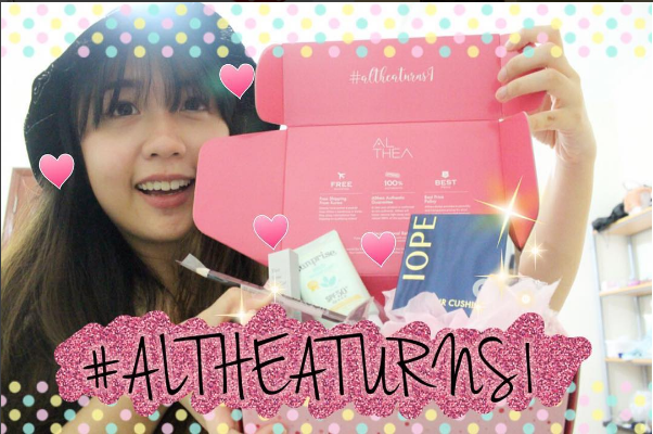 Welcome To My Life Althea Birthday Box Unboxing English