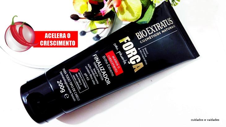 Bio Extratus Força com Pimenta Finalizador