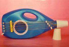 Instrumento musical reciclado : Guitarras e instrumentos de cuerda