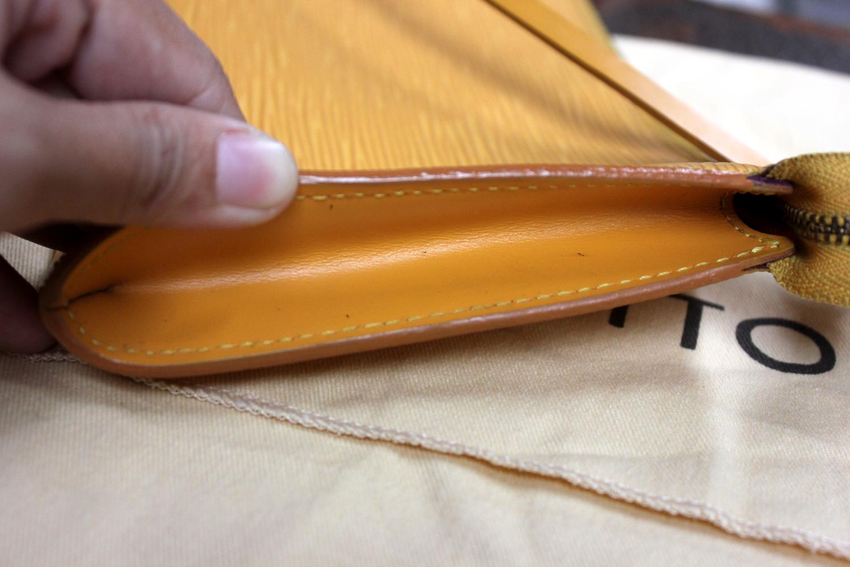 8411f9a931d523 Verish Bags: Louis Vuitton Pochette Epi Yellow