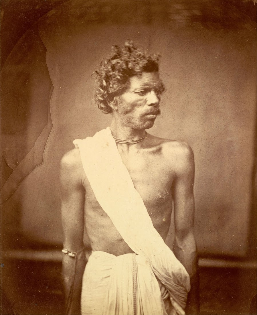 Portrait of a Man from Eastern Bengal - 1860's
