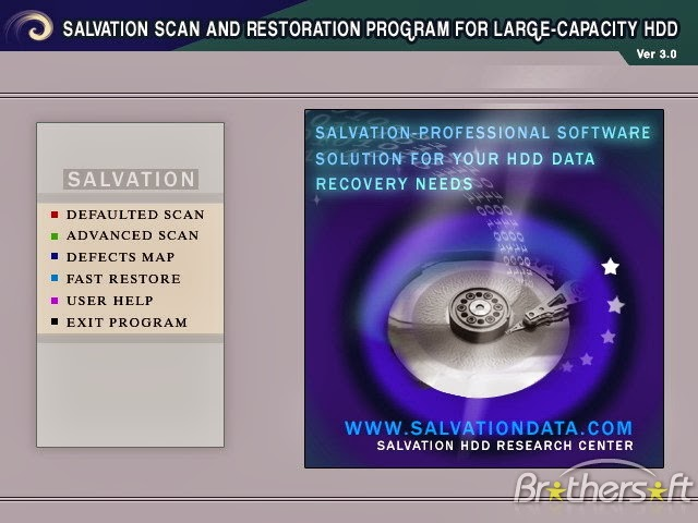 تحميل برنامج HDD Scan And Repair3 لفحص وإصلاح الهارد ديسك وفصل الباد سيكتور