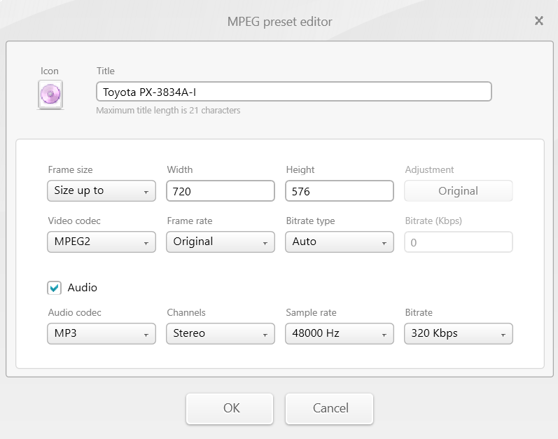 Converting video files to be playable from USB drive in