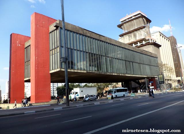 Художественный музей Сан-Паулу (MASP)