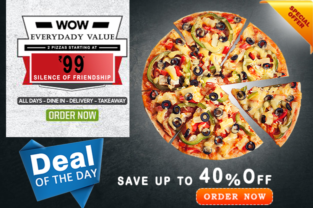 Pizza Hut Coupons India